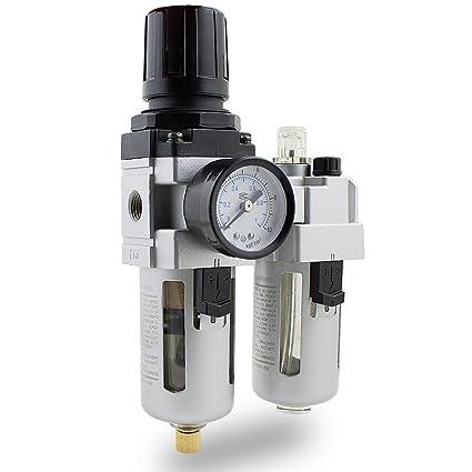 bituxx® unidad de mantenimiento de aire comprimido, separador de agua oeler 1/