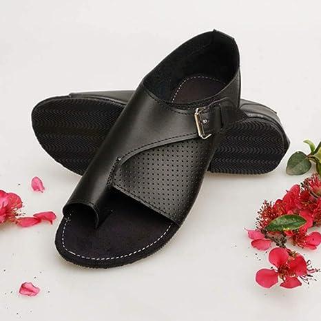 943220d163208 Amazon.com: Women's Classic Toe Open Flat Sandals Sinaou Breathable ...