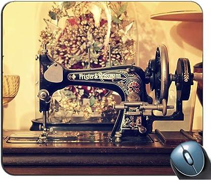 PQU Awesome Alfombrilla De Teclado,Máquina De Coser Vintage ...