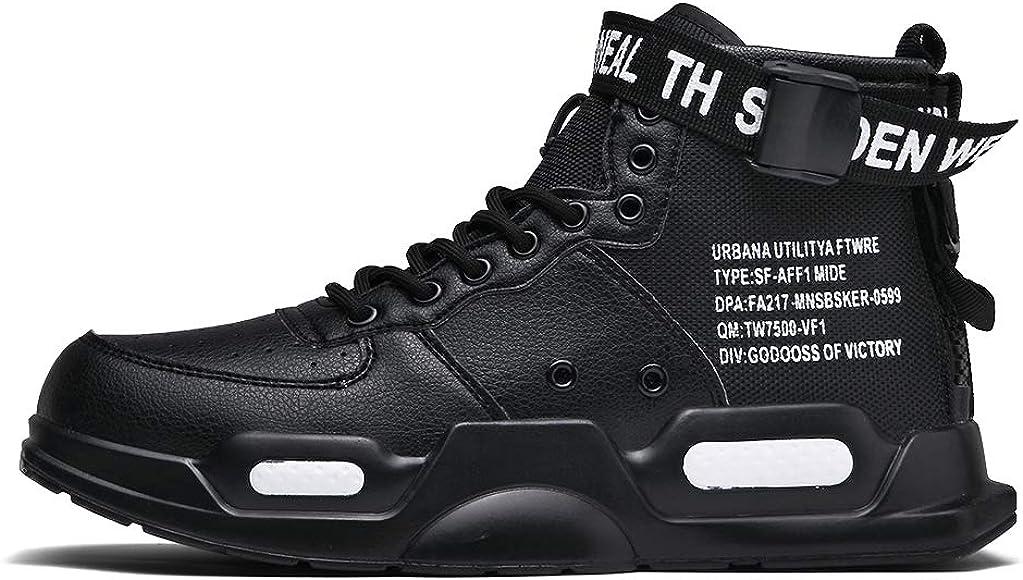 XIDISO Fashion Mens Women Sneakers High