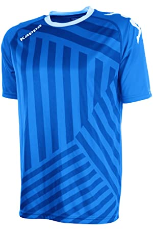 Kappa Temporio SS Camiseta Fútbol, Unisex, Azul Royal, 2XL