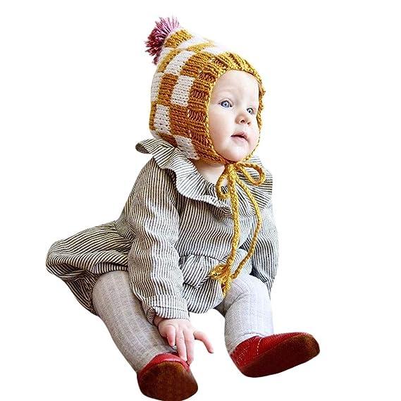 Amlaiworld Monos bebé, Recién Nacido bebé niño niña Manga Larga a Rayas Mameluco Mono Trajes Ropa Bodies Tops Camisas: Amazon.es: Ropa y accesorios