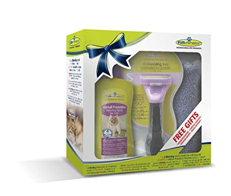 Furminator - Cepillo para Retirada de Pelo de Gatos (Kit de Regalo)