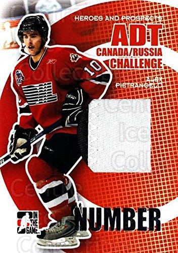 (CI) Alex Pietrangelo Hockey Card 2008-09 ITG Heroes and Prospects Canada Russia Number Silver 2 Alex Pietrangelo