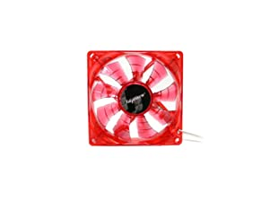 Bgears b-PWM 90mm Red Cooling b-PWM 90 Red 2Ball Translucent Red