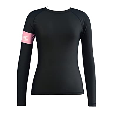 LayaTone Rash Guard Women Long Sleeves Swimsuit Swimwear Tops Girl Dive Skin Surf Suit Water Sports T-Shirts Girl