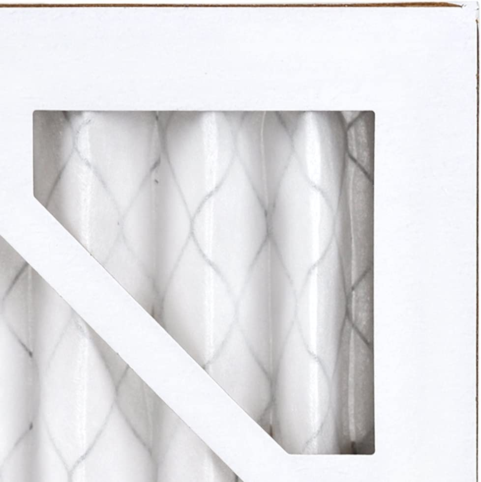 AIRx DUST 16x25x1 MERV 8 Pleated Air Filter Made in the USA Box of 6