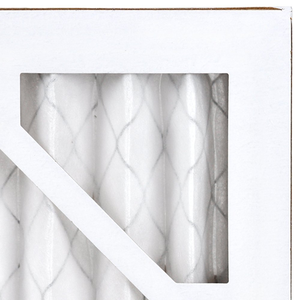 AIRx ALLERGY 14x14x1 MERV 11 Pleated Air Filter - Made in the USA - Box of 6
