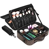 Ace Teah Makeup Bag 2 Layer Cosmetic Case