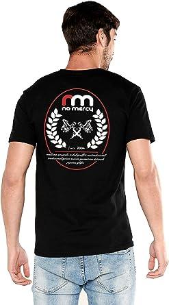 No Mercy Community - Camiseta Negra de Manga Corta Street Wear Tattoo