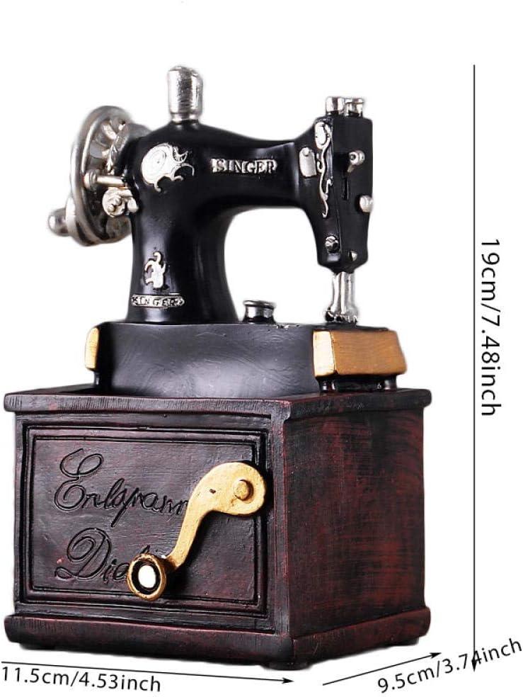 FENGMANG Máquina de Coser de Resina Vintage Soporte para bolígrafo ...