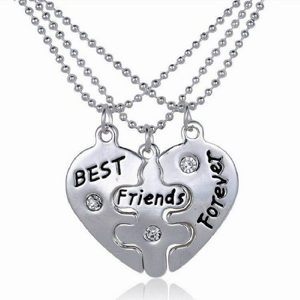 best friend locket lockets diamond plated silver with sterling heart rhodium pin