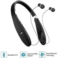 Portronics Harmonic 200 POR-927 Wireless Stereo Headset (Black)