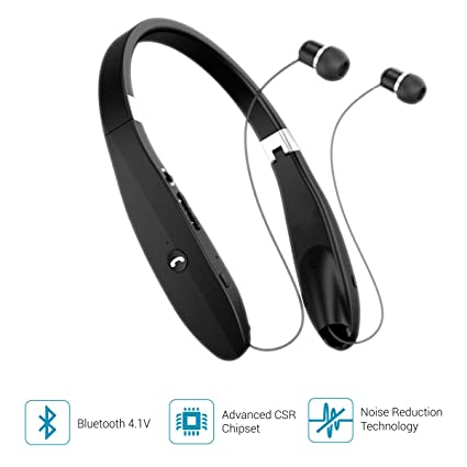 34871e2a10b Portronics Harmonic 200 POR-927 Wireless Stereo Headset (Black): Buy ...