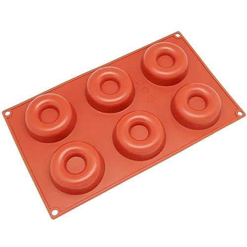 Freshware Sl-105rd 8-Cavity Silicone Popover Mold 8-Cavity