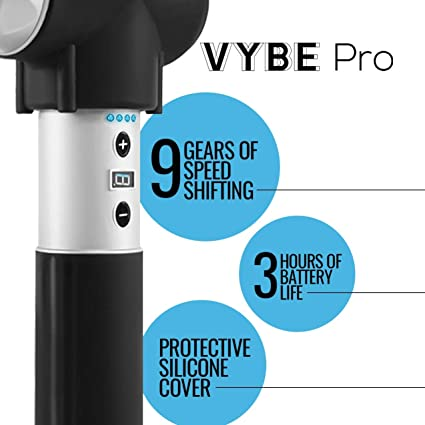 Vybe Pro Percussion Massager Feature