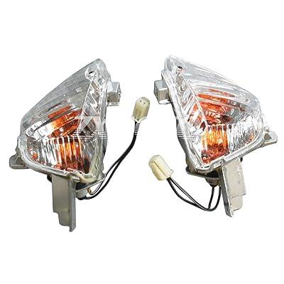 ZXMOTO ClearRear Turn Signal Indicator Light for Suzuki GSXR 600 GSXR 750 K8 (2008-2009) / GSXR1000 K7 (2007-2008): Automotive [5Bkhe0914478]