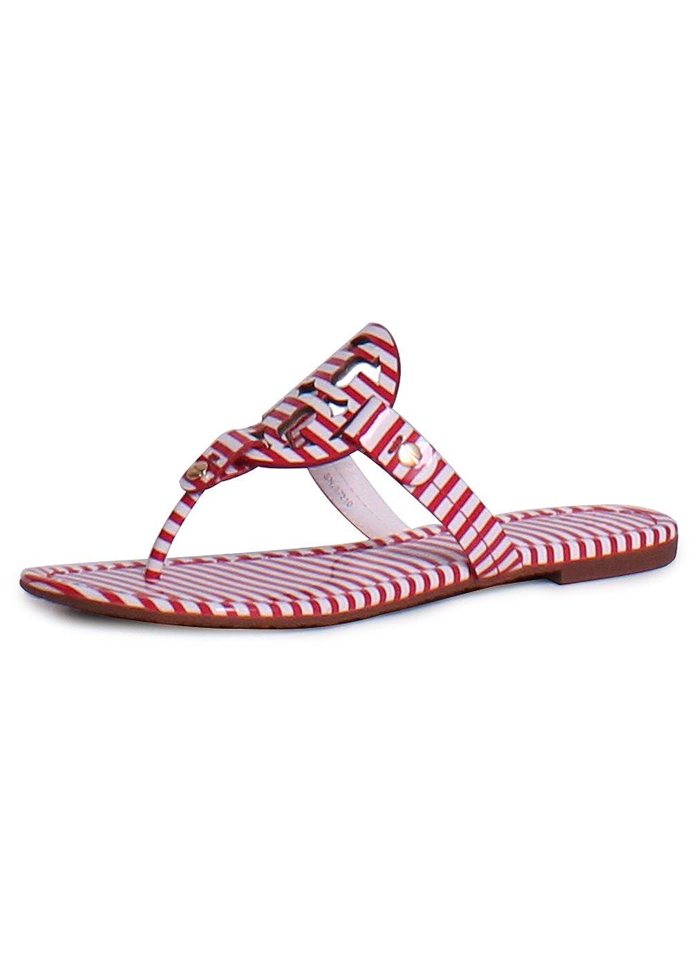無料配達 [トリーバーチ]Tory Burch レディース サンダル Red フラットシューズ miller2 Flat B(M) 8 Thong Sandal【並行輸入品】 B01MT38PHG 8 B(M) US|Nautical Stripes Red Nautical Stripes Red 8 B(M) US, タイヤホイール カンパニー:62948366 --- svecha37.ru