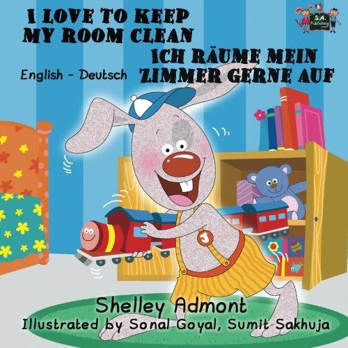 I Love to Keep My Room Clean Ich räume mein Zimmer gerne auf (English German Bilingual): German bilingual childrens books (English German Bilingual Collection) (German Edition) Photo #1