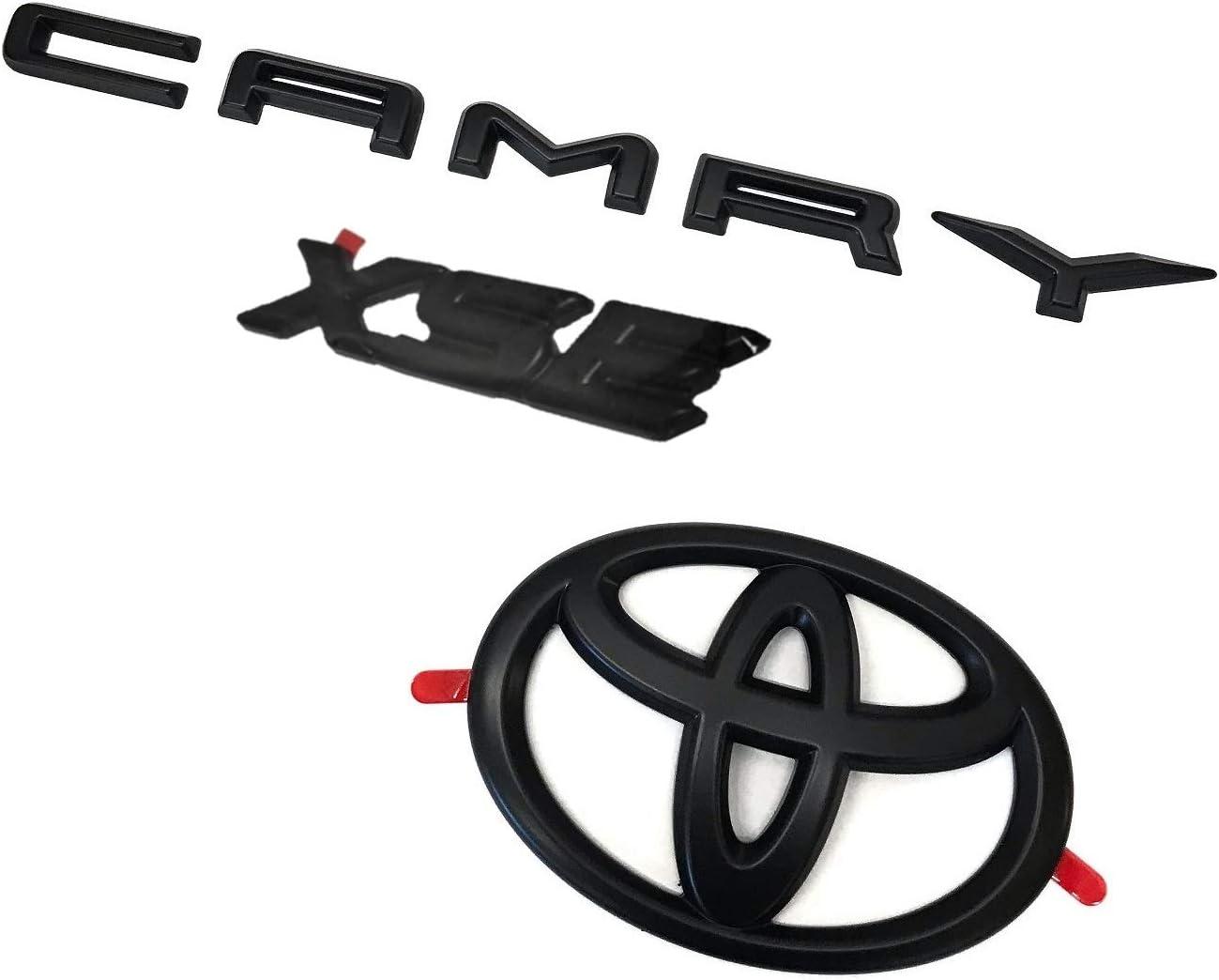 Genuine Toyota Camry XSE Blackout Emblem Overlays PT948-03190-02