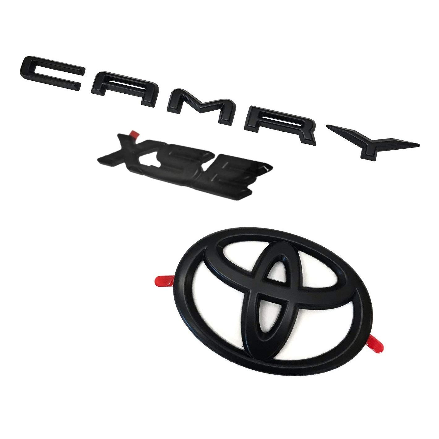 Genuine Toyota Camry XSE Blackout Emblem Overlays PT948-03190-02