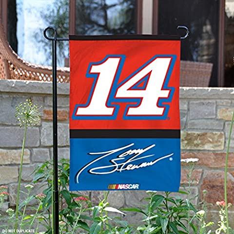 Tony Stewart #14 Two Sided Garden Flag (Garden Flag Tony Stewart)
