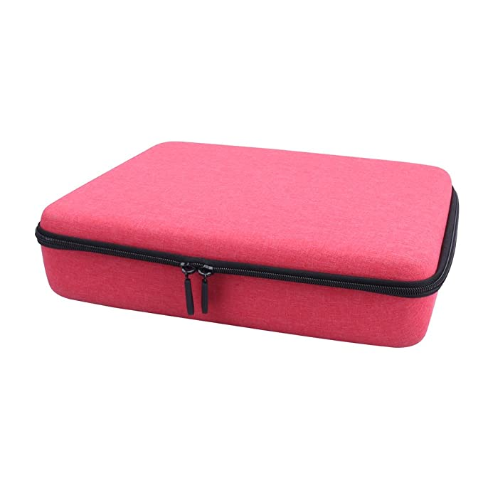 f987c0f41fd7 Storage Organizer Carrying Hard Case for Code and Go Robot Mouse Activity  Set by Aenllosi (Red)