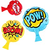 """[3 Pack]Whoopie Cushion,4""""7""""8""""Whoopee Cushion,Fun Prank Toy for Kids and Adult,Gift,Party Favor and Reward,Ideas"""