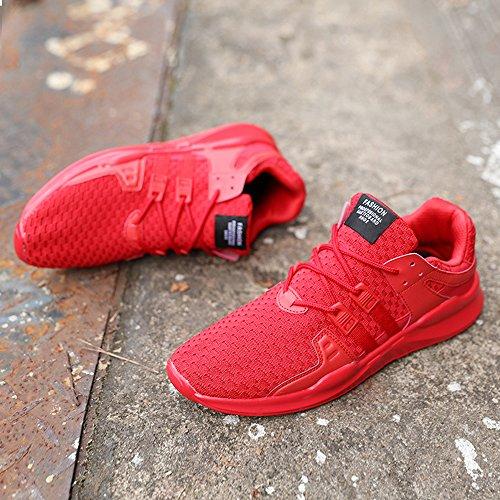 Athltique Speedeve Rouge Course Lger Baskets Chaussures Sport Homme Jogging Pour De Gym Respirant 0axwBqFw