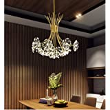 Chandelier/Crystal Light Ceiling Light/Restaurant Bar Hotel Living Room Bedroom Chandelier/Warm Light G4 Light Source…