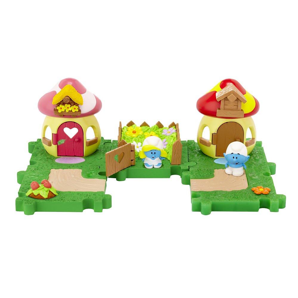 muchas sorpresas Los Los Los Pitufos Wave 1 Pitufina y Pitufo Deluxe Jugar Micro Figura  minoristas en línea