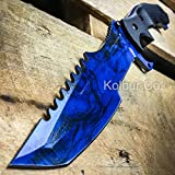 CSGO Fixed Blade HUNTSMAN KNIFE Hunting Tactical Bowie Survival – SAPPHIRE DOPPLER (Limited Edition) + FREE CS:GO DOG TAG Review