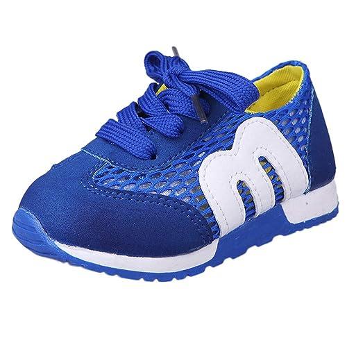 Zapatillas de Deporte de Exterior Running para Unisex Bebés Niños Niñas Otoño Invierno 2018 Moda PAOLIAN Casual Calzado Niñas Niños Antideslizante Zapatos ...