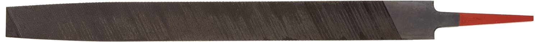 "Simonds - 78148600 Mill Hand File, American Pattern, Single Cut, Rectangular, Black Oxide Coating, Fine, 10"" Length, 31/32"" Width, 11/64"" Thickness"