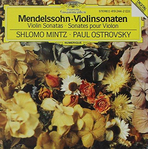 Mendelssohn Violin Sonata (Mendelssohn: Violinsonaten [Violin)