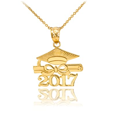 jewelry gold orelia lyst necklace happy in metallic graduation