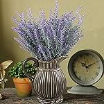 GTIDEA-Artificial-Flowers-Flocked-Plastic-Lavender-Bundle-Fake-Plants-Wedding-Bridle-Bouquet-Indoor-Outdoor-Home-Kitchen-Office-Table-Centerpieces-Arrangements-Christmas-Decor-4pcs