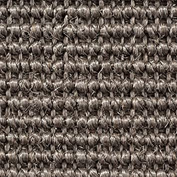 verschiedene Gr/ö/ßen 400 cm Breite Teppichboden Auslegware Sisal Naturfaser Schlinge Meterware Gr/ö/ße: 1 Muster braun natur