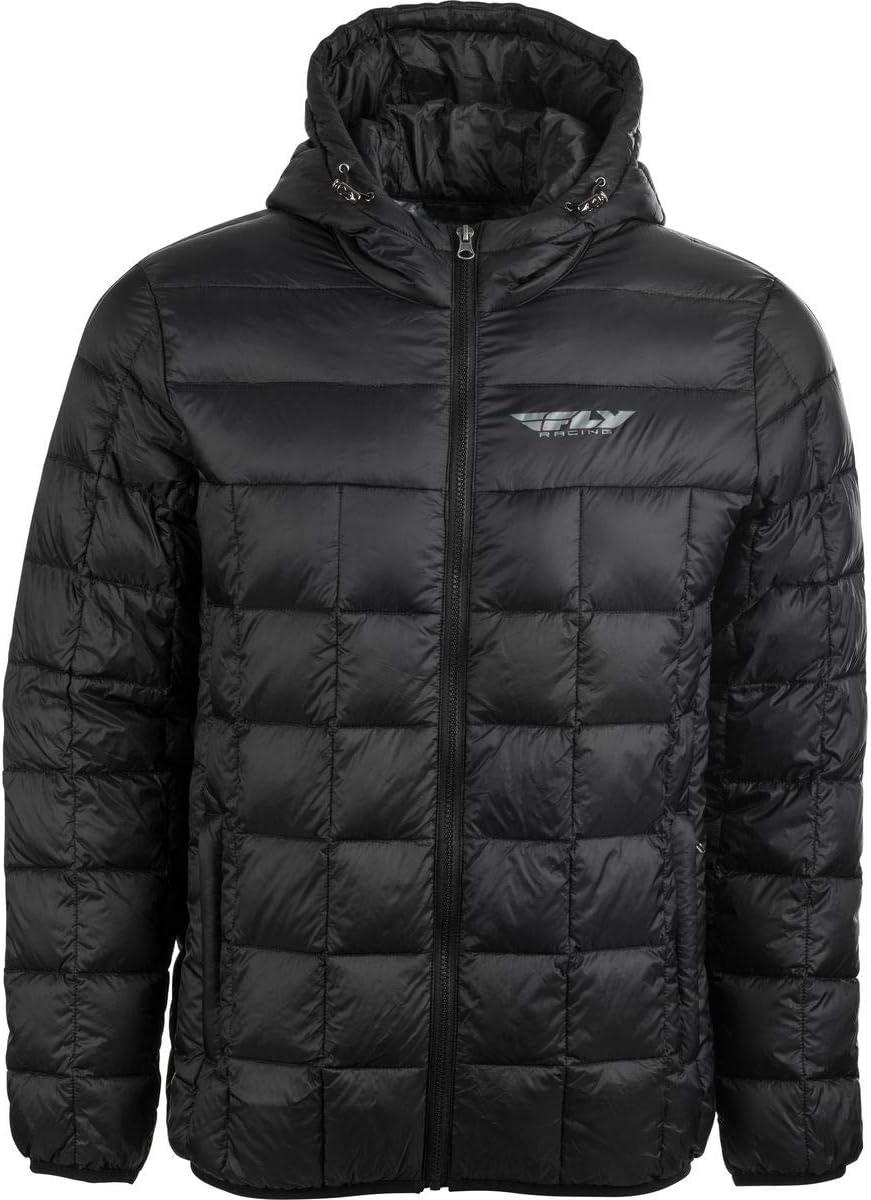 Medium Black Fly Racing Spark Jacket