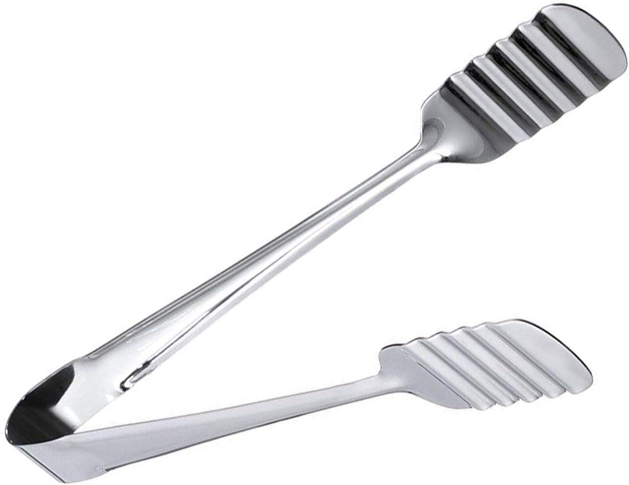Kitchen kemistry Pinzas para Servir de Pastel de Acero Inoxidable Premium de 9 Pulgadas de Largo