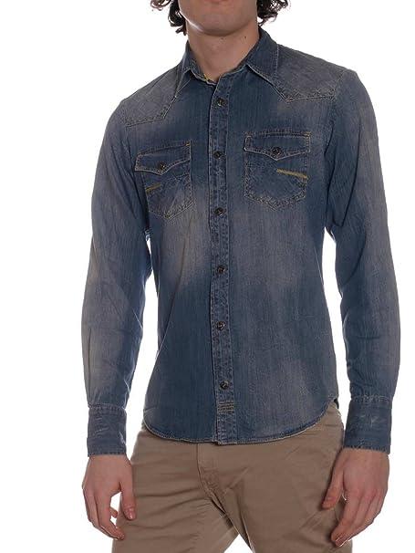 Ajuste Hombre Ud320 Carey Camisa Meltin'pot Jeans Para D1527 wI0AYq