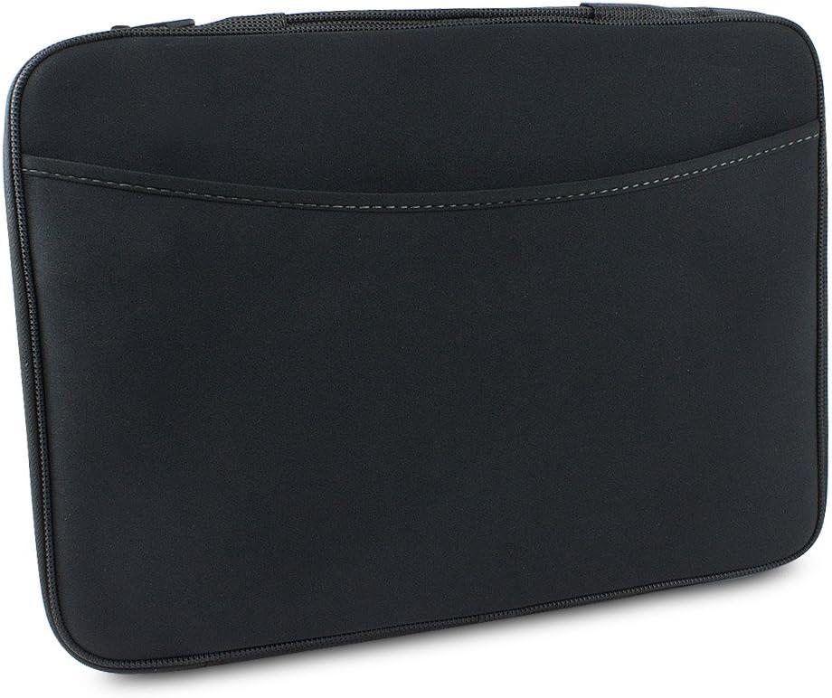 """Logitech 16"""" Neoprene Laptop Sleeve (Black & Grey)"""