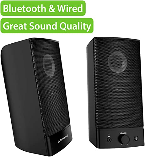 Avantree HIGH Clarity 10W Bluetooth Computer Speakers