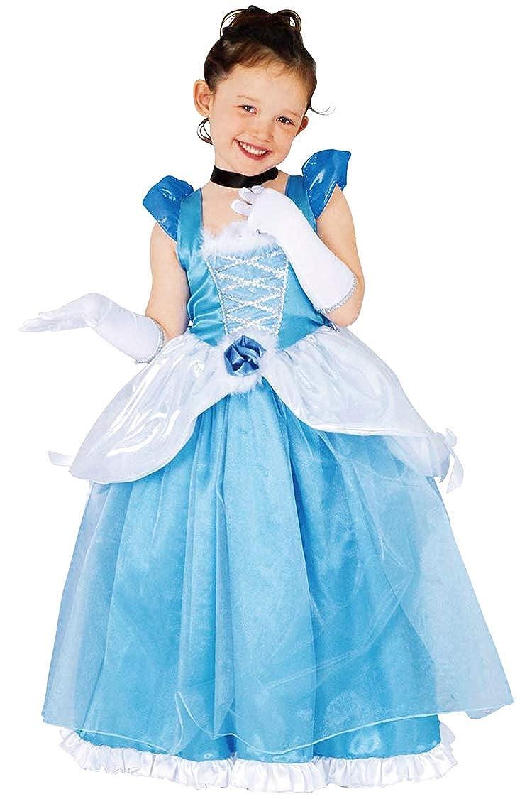 ad2e0b3a3b1 Amazon.com: Disney Deluxe Cinderella Costume - Child Toddler Size ...