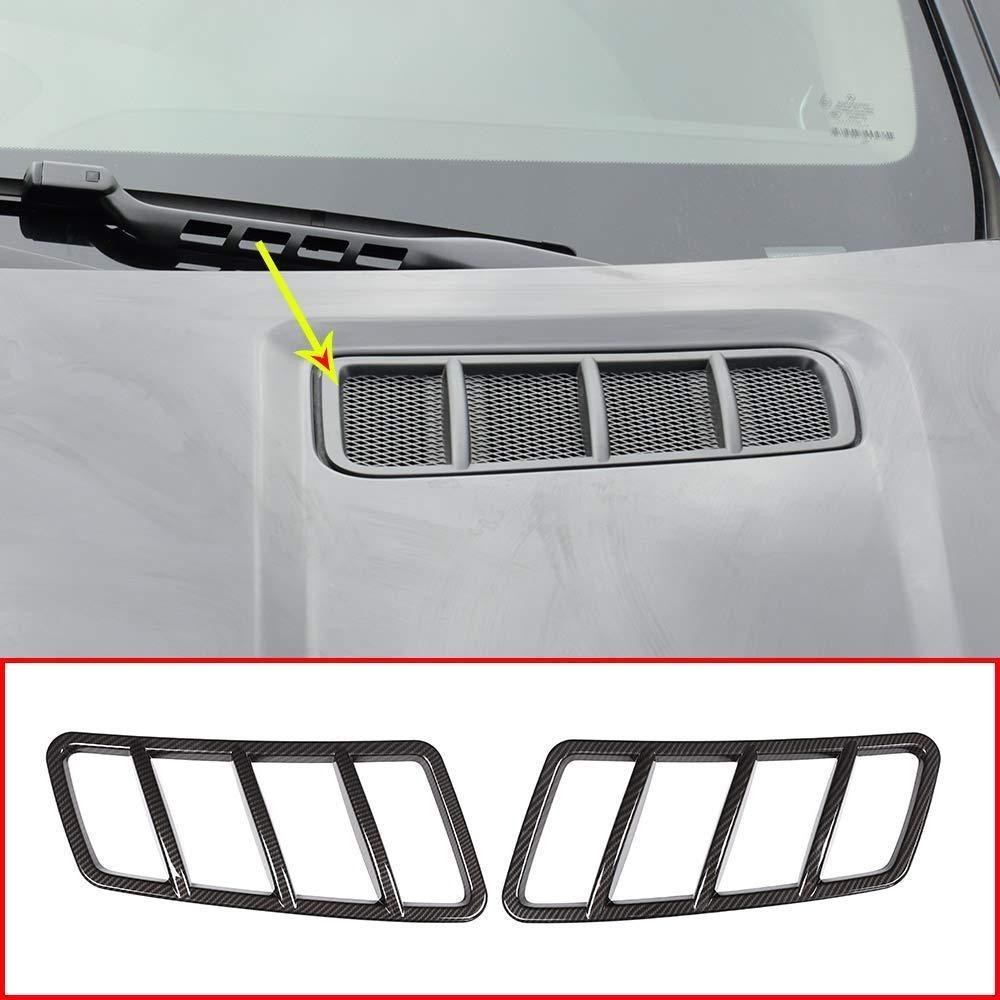 AUTO Pro for Mercedes Benz ML GLE GL GLS Class W166 Carbon Fiber Style Engine Roof Hood Sticker Trim Accessories