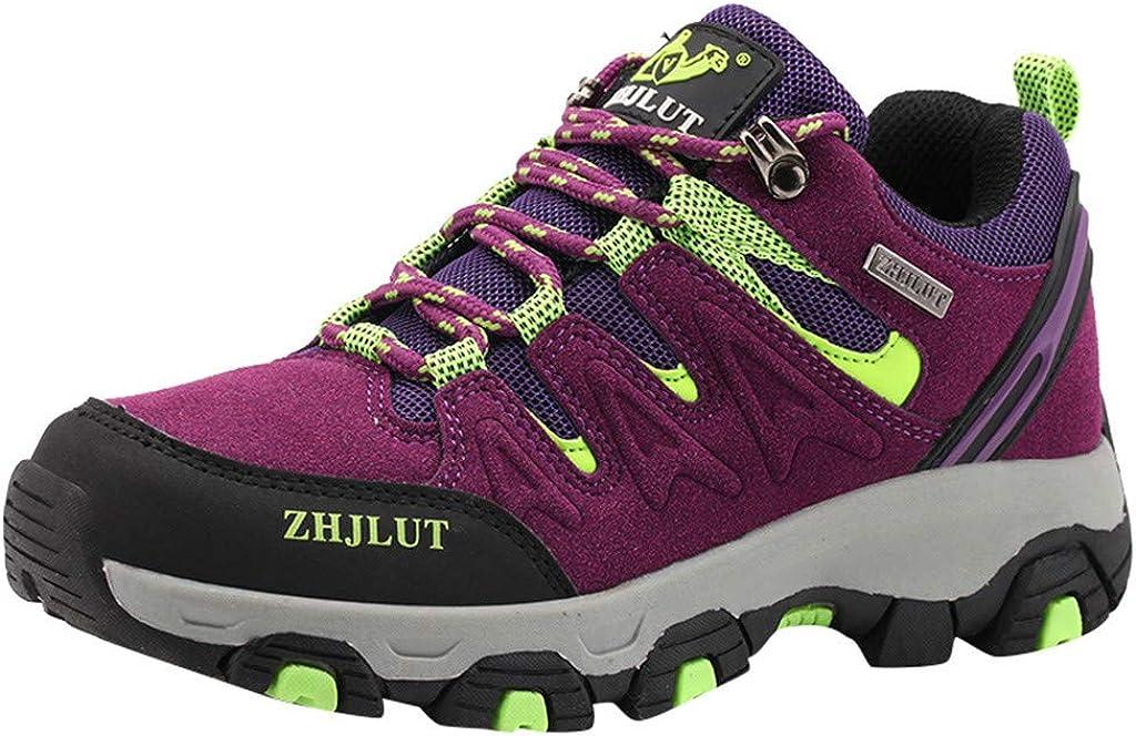 YUTING Botas de Senderismo para Mujer Zapatillas de Escalada Confortables Antideslizantes y Resistentes al Desgaste Zapatos de para Trekking Caminar Correr al Aire Libre: Amazon.es: Ropa y accesorios