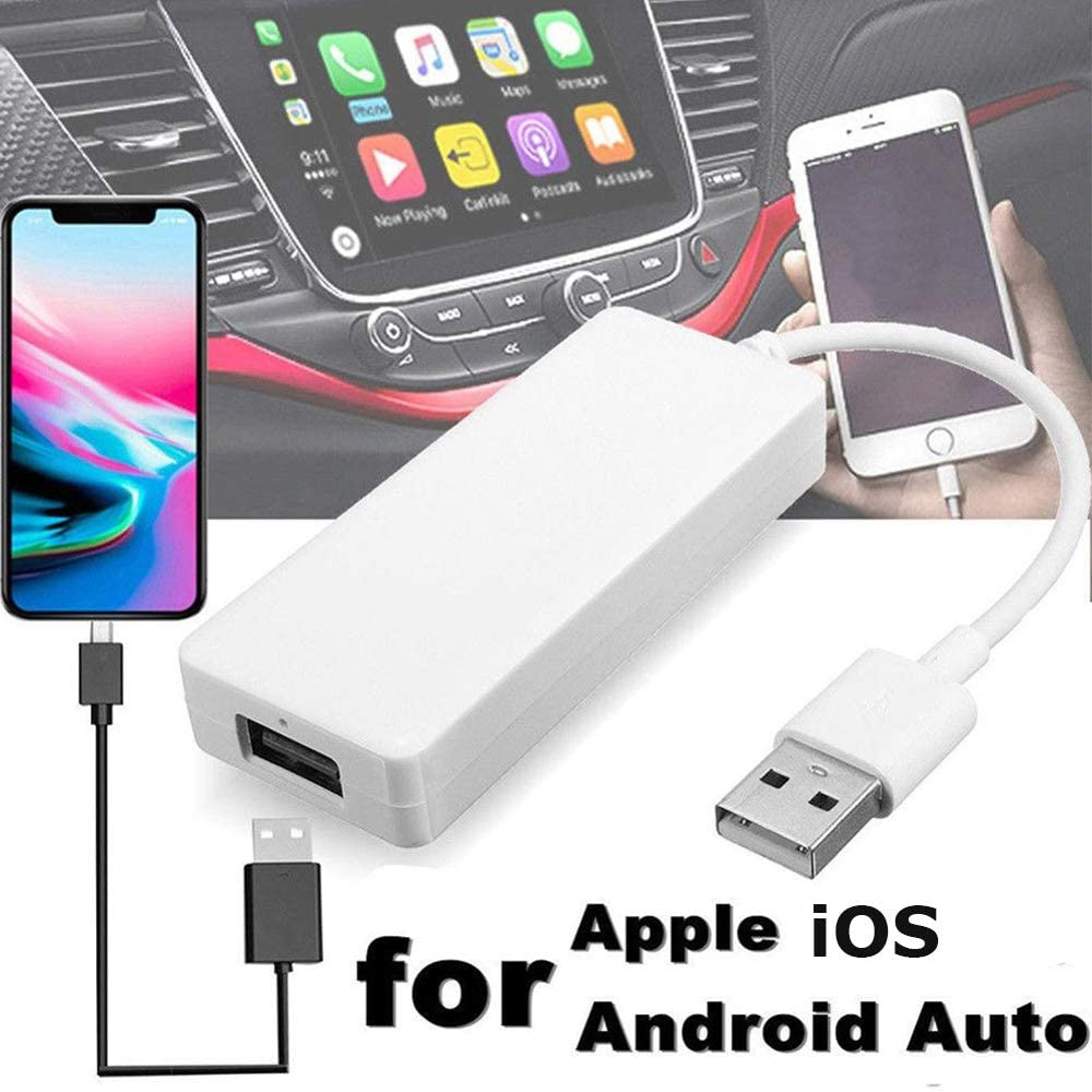 Polarlander Car Link Dongle USB Smart Link Apple Dongle for Android Navigation Player Mini USB Stick with Android Auto for iOS