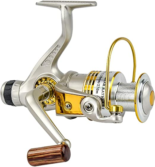 SH-yxl Spinning Fishing Reel 10 + 1 rodamientos de Bolas Izquierda ...