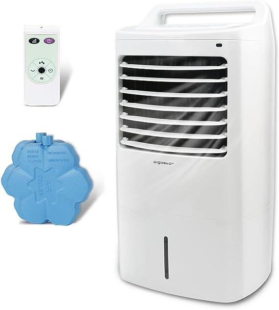 Aigostar Kohl 33JTJ - Climatizador evaporativo con mando a ...