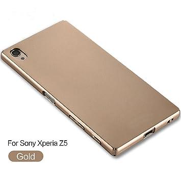 xinyunew Funda Sony Xperia Z5, 360 Grados Protective Carcasa +Cristal Templado Protector de Pantalla para Ambas Caras PC Hard Skin Case Cover para ...